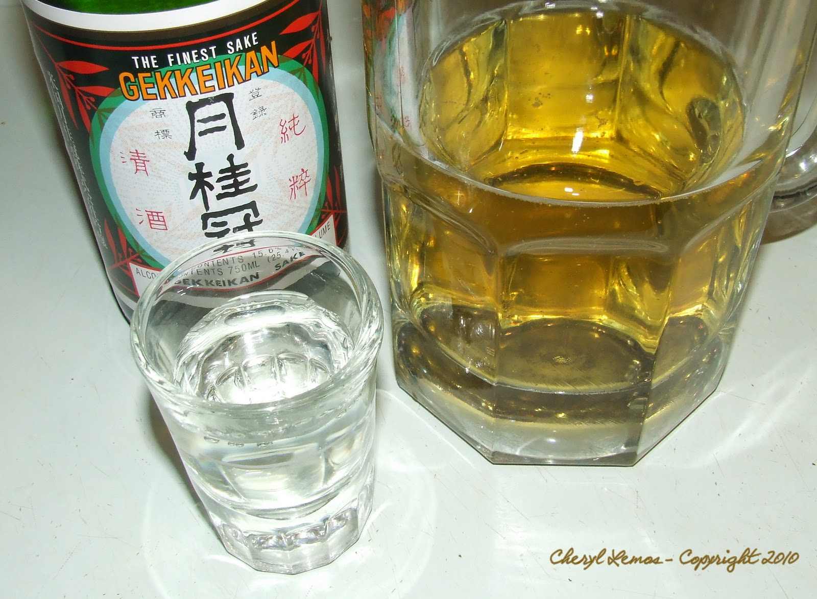 Stuff by Cher: Firewater Friday . . . Sake is the bomb!