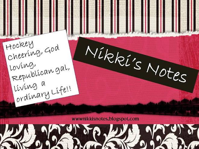 Nikki's Notes
