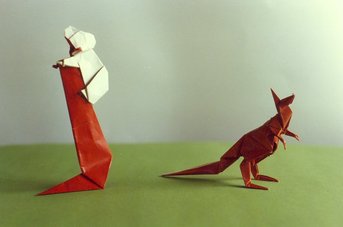 origami kangourou explication