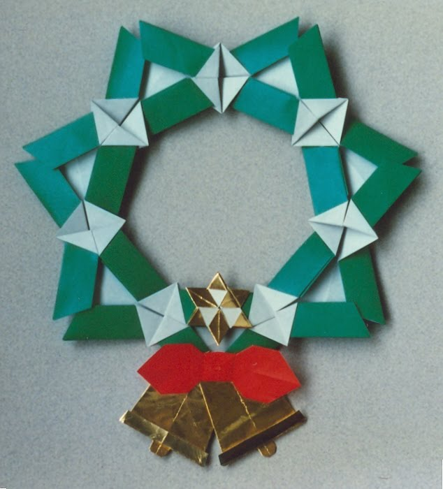 F ziegler origami nancy et autres billeves es for Decoration de noel origami