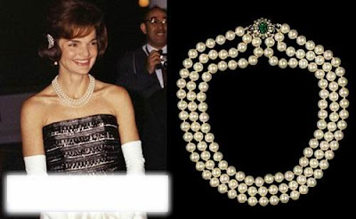 Jackie Kennedy Fashion Jewelry on Lady Jacqueline Kennedy Can Be Said That The Fashion Leader Jacqueline