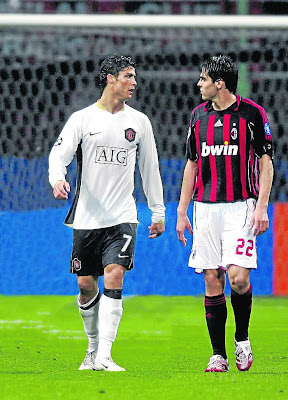 REAL MADRID HAS RONALDO, KAKA