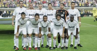 Real Madrid 2009 Squad Real Madrid Squad 2008/2009