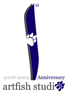Artfish Studio 1st Anniversary Banner