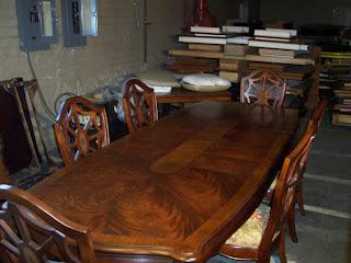Nice Thomasville Furniture Kent Park Mahogany Dining Table