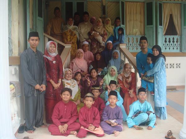 Sebahagian Dari Keluarga Allahyarham Maisin bin Yunus & Allahyarhamah Hjh. Juah bt. Rentah