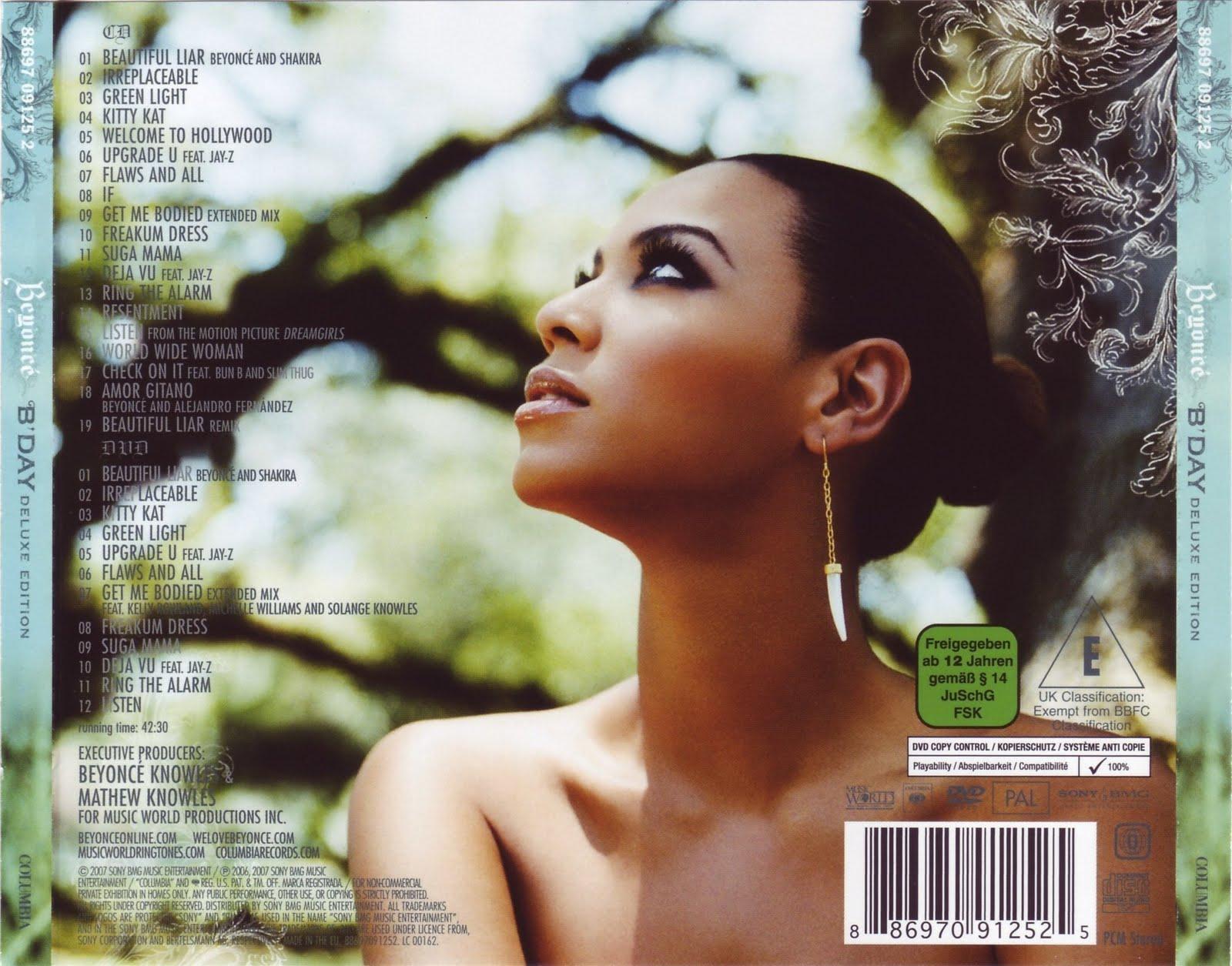 Beyoncu00e9 DOWNLOAD - CD - Beyoncu00e9 - Bu0026#39;Day Deluxe Edition