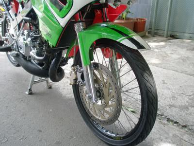 Modifikasi Kawasaki Ninja 150R