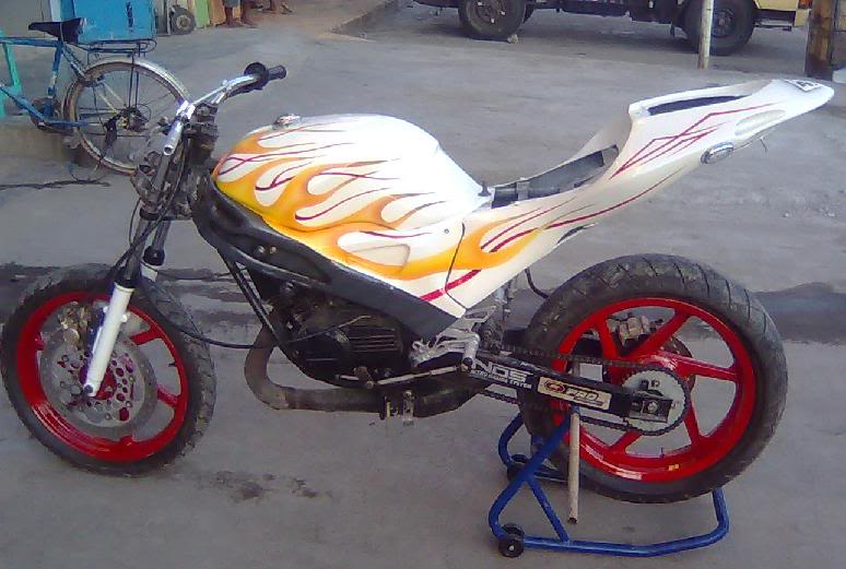 Yamaha RX King Street Figther Modify