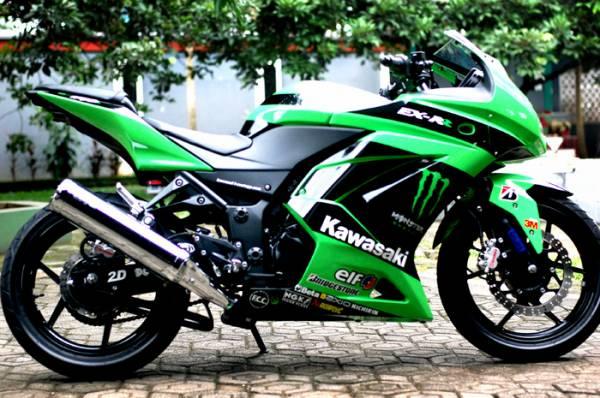 Kawasaki Ninja 150 Rr Modifikasi. Modifikasi Kawasaki Ninja