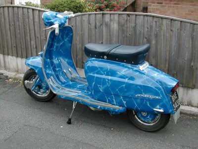 Image of Foto Vespa Modifikasi