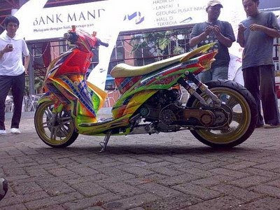 Gallery Foto Modifikasi Motor Yamaha Jupiter Mx 2012