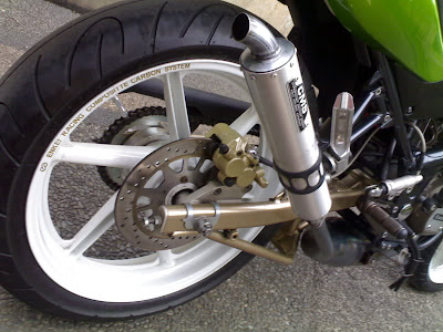 Kawasaki Ninja RR Modifications