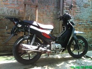 Modifikasi Honda Karisma 125D