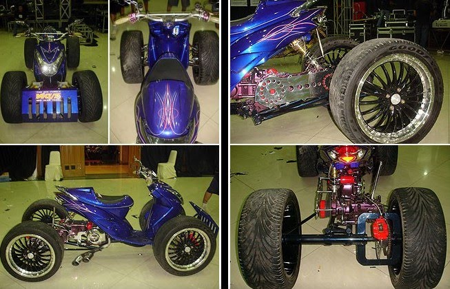 2005 YAMAHA MIO SPORTY MODIFICATION title=