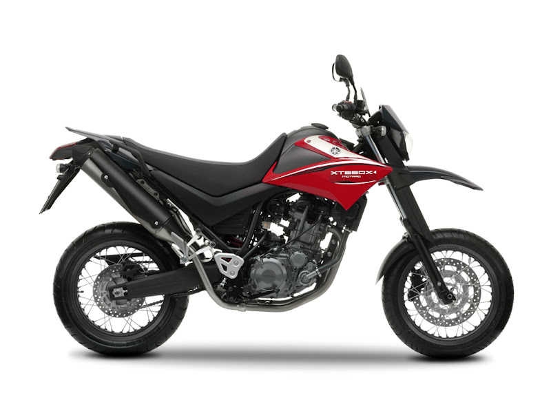 2010 Yamaha XT660X Red