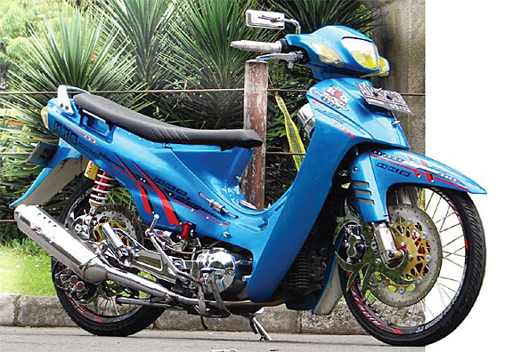 Foto Modifikasi Motor Shogun 110