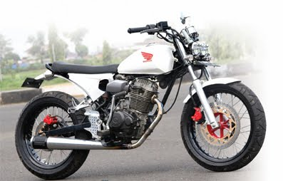 Honda CB 100 Japanese Style Custom Bike | Modifikasi Motor