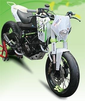 Modif GL PRO NEO Tech Jadi KTM 690 Stunt (Konsep)