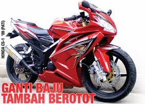 Modif Honda CS-1 Sport from Pati
