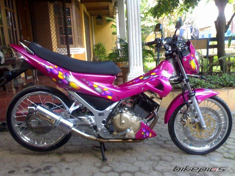 Modifikasi Suzuki Raider Velg TDR ET SHAPE
