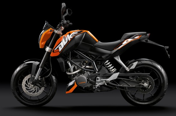 2011 KTM 125 Duke Street Bike Picture