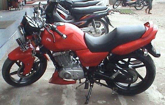 motorcycle: MODIFIKASI SUZUKI THUNDER 125