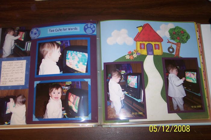 Blue's Clues layout