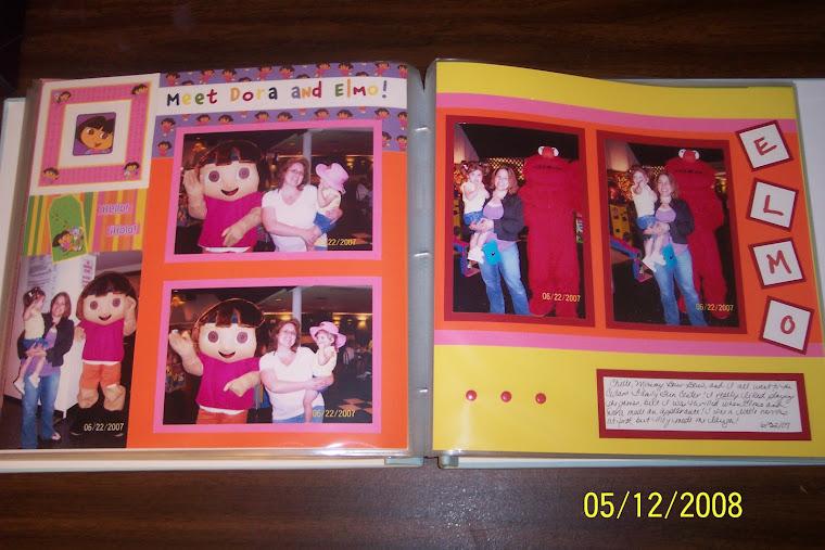Elmo and Dora!!!