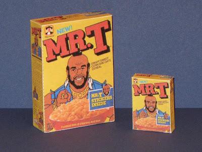 Les jouets en papier Mr.+T+Cereal+Box+Papercraft