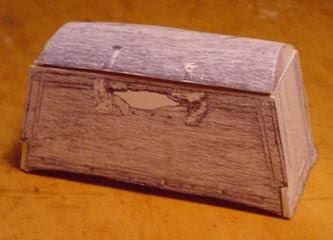 Viking Sea Chest Papercraft