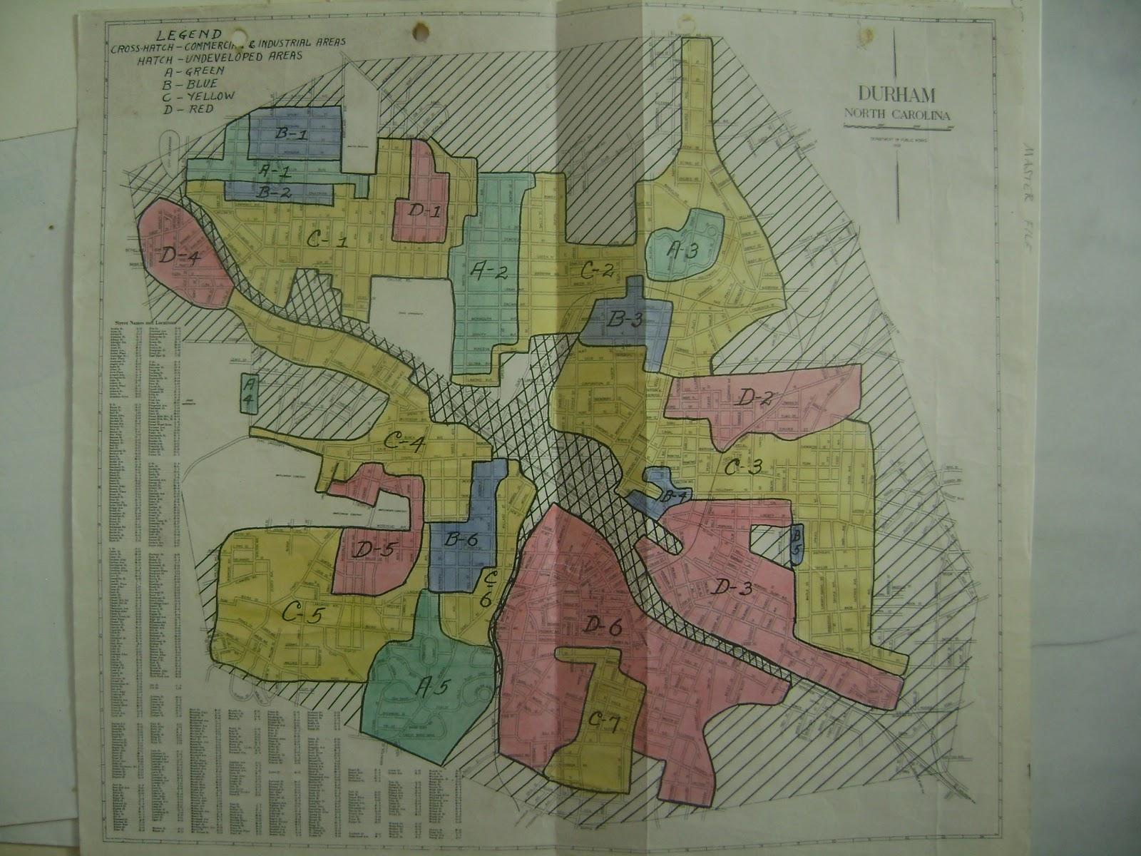 Durham Maps