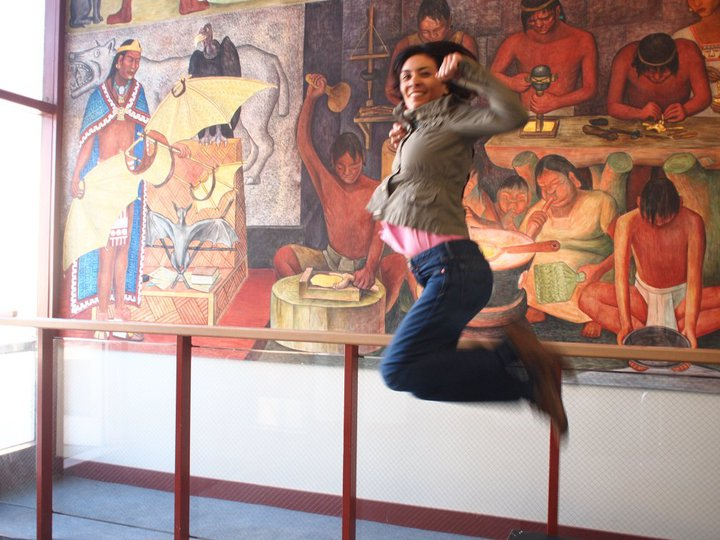 Jumping in art museums diego rivera mural project jumping for City college of san francisco diego rivera mural