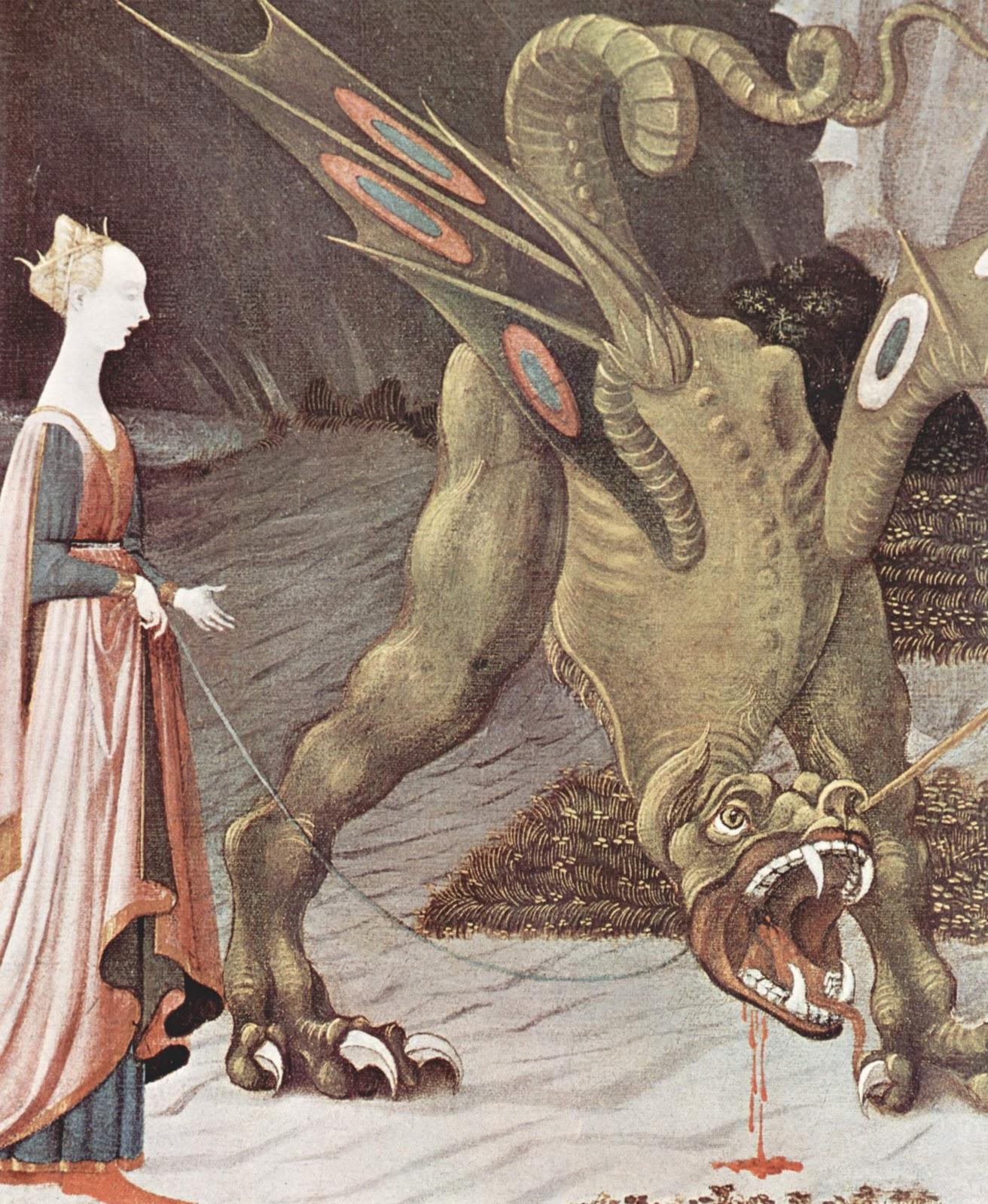 Theaterliebe: Paolo Ucello - Der Heilige Georg tötet den Drachen