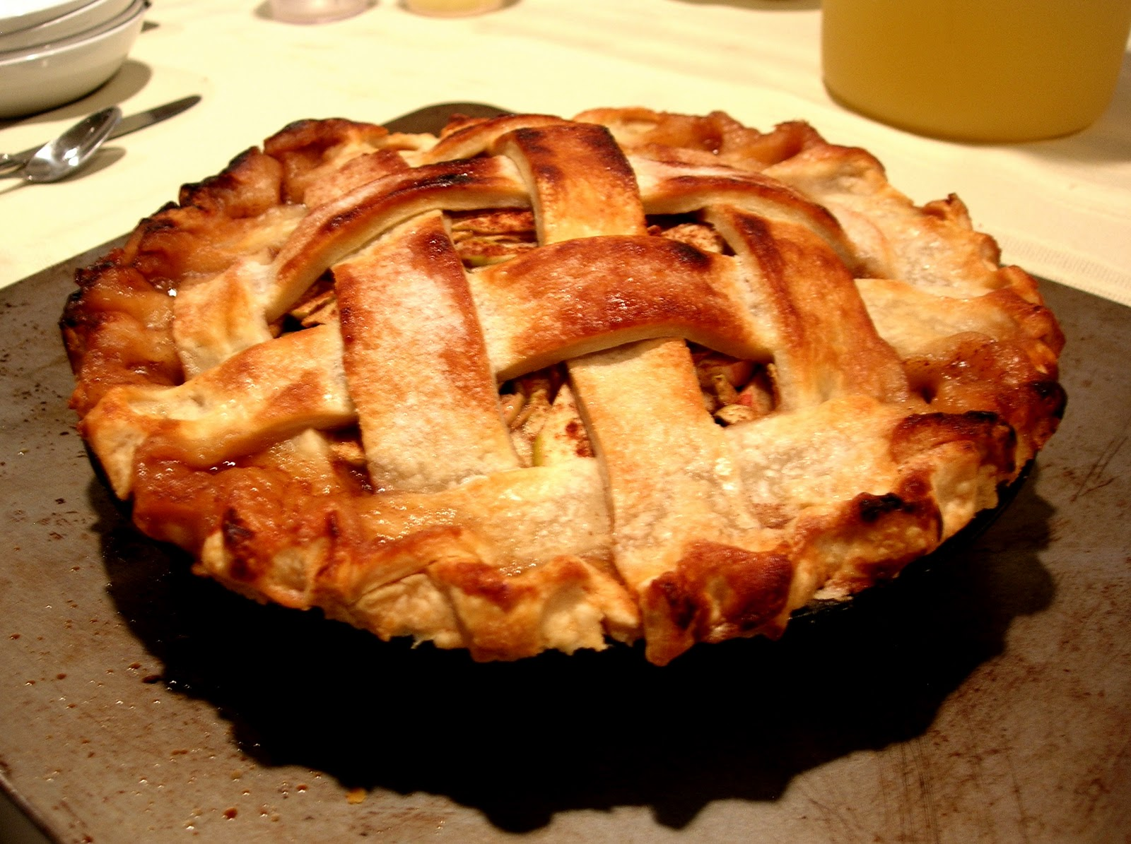 Dishes and Designs: October and Apple Pies
