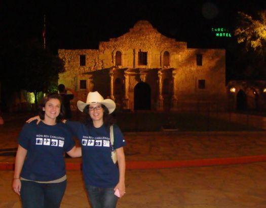 Visiting the Alamo