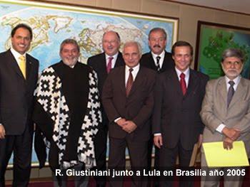 Junto A Lula Da Silva