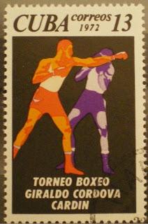 1972 Cuba Boxing Stamp