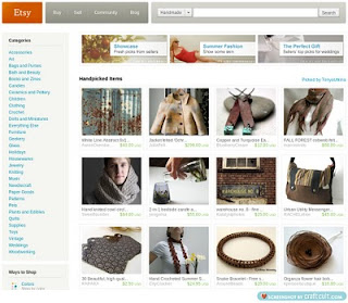 Etsy front page urban living
