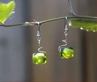green grapes earrings by tonyautkina on etsy