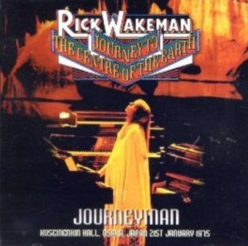 journey to the center of the earth rick wakeman. Rick Wakeman - 1975-01-21