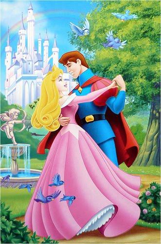 Sleeping Beauty With Prince Wallpaper Disney Princess Clips