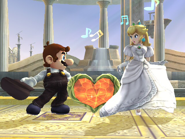 mario+and+peach+married+3 Gamings Greatest Love Stories