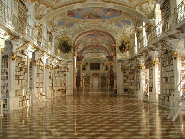Admont Austria  City pictures : library of the benetictine monastery of admont austria