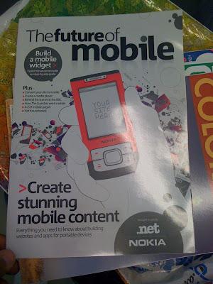 Fotoğraf: The Future of Mobile dergisi kapağı