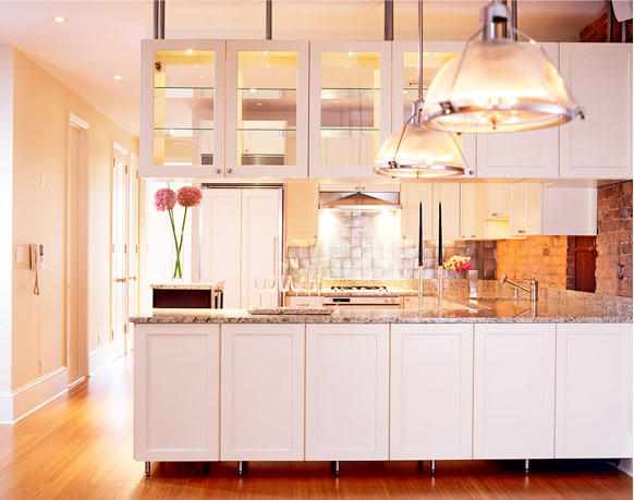 kitchen cabinets for a great effect and positive energy