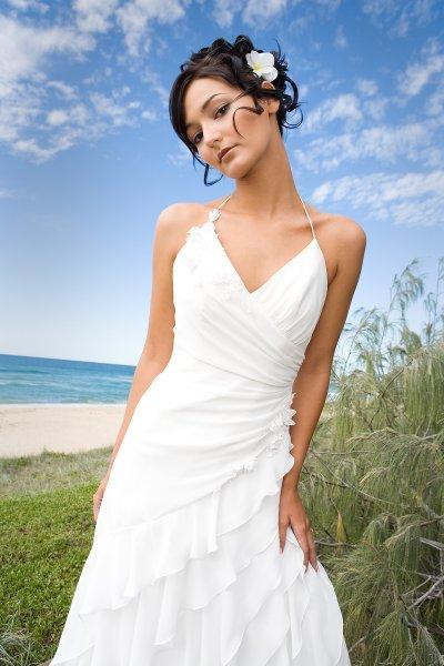Always investigate the beach carefully when choosing a wedding location
