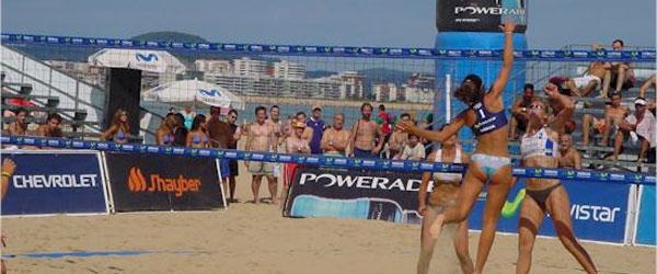 Mundial de voley playa en Valencia