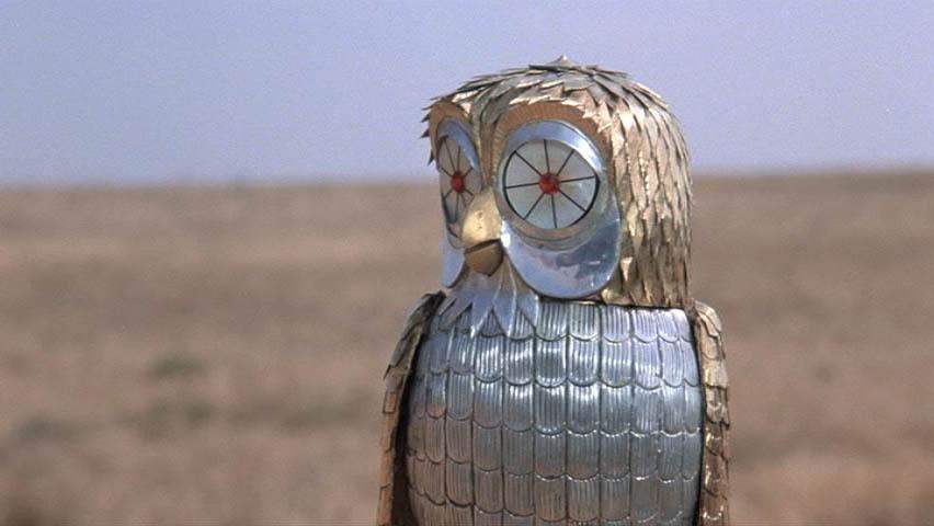 Gallery For > Clash Of The Titans Owl Harry Hamlin