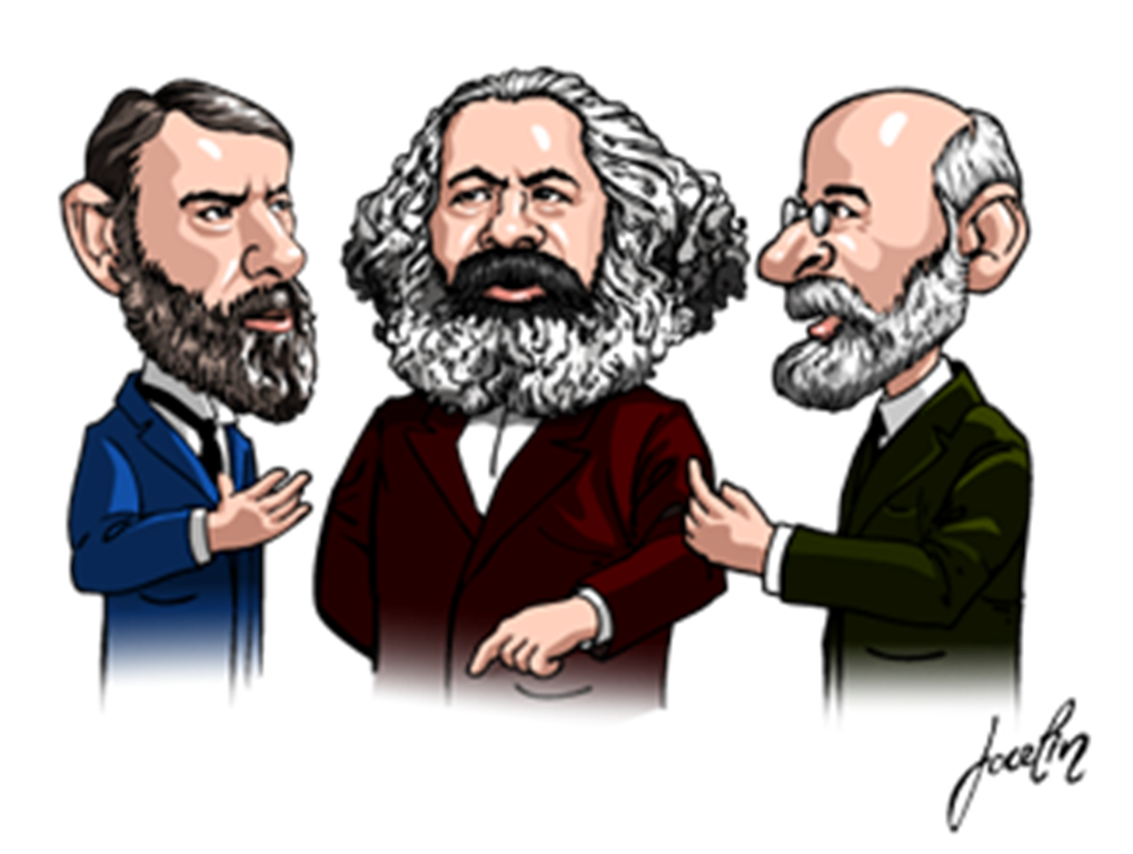 durkheim and weber essays Question compare and contrast marx, weber and durkheim on the key features of western societies and the transition from pre-industrial to industrial social forms.